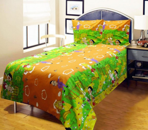 Детский комплект постельного белья «Незнайка»