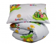 Детский комплект постельного белья «Веселі фрукти»