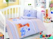 Детский комплект постельного белья Ранфорс «Друзья»