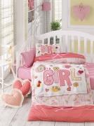 Детский комплект постельного белья Ранфорс «Красотка»