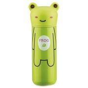 Детский термос 200 мл зеленый Лягушка