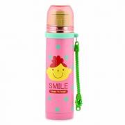 Детский термос 260 мл розовый Smile