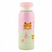 Детский термос 450 мл розовый
