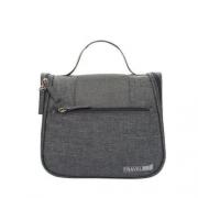 Дорожный подвесной органайзер для косметики Travel bag Grey