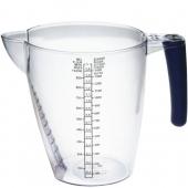 Дозатор кухонный с резиновой ручкой 1,5л