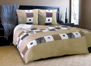 Двуспальный комплект постельного белья Бязь «Элит»
