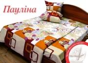 Двуспальный комплект постельного белья Бязь «Паулина»