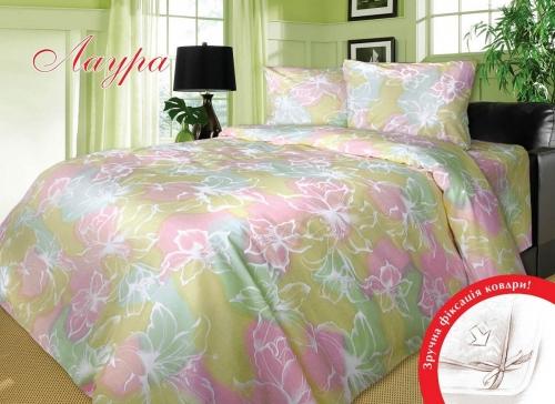 Двуспальный комплект постельного белья Бязь «Лаура»