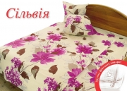 Двуспальный комплект постельного белья Бязь «Сильвиа»