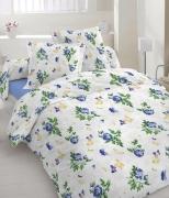 Двуспальный комплект постельного белья Бязь голд «Метелик»