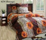 Двуспальный комплект постельного белья Бязь Подсолнух