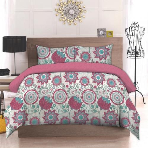Двуспальный комплект постельного белья Бязь премиум «Петриківка»