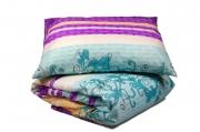 Двуспальный комплект постельного белья эконом «Фуксия»