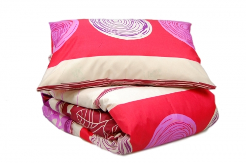 Двуспальный комплект постельного белья эконом «Листья»