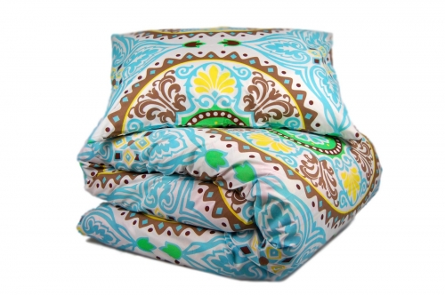 Двуспальный комплект постельного белья эконом «Мандалла»