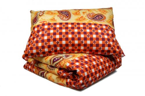 Двуспальный комплект постельного белья эконом «Вензель»