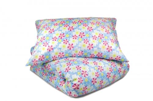 Двуспальный комплект постельного белья эконом