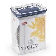 Емкость для хранения продуктов прямоугольная 2,2л Tosca синяя