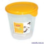 Емкость для морозилки круглая  FRESH & GO 1л