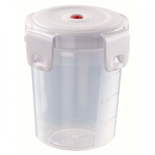 Емкость для СВЧ и морозилки круглая AROMA FRESH PREMIUM 0,5л
