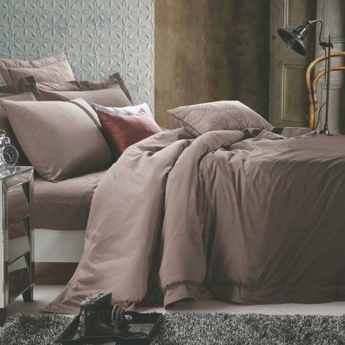 Евро King Size комплект постельного белья Сатин Люкс «Ерде»