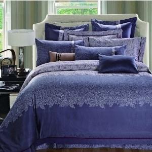 Евро King Size комплект постельного белья Сатин Люкс «Римини»