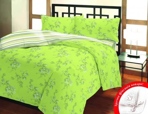 Евро комплект постельного белья Бязь «Луизиана»