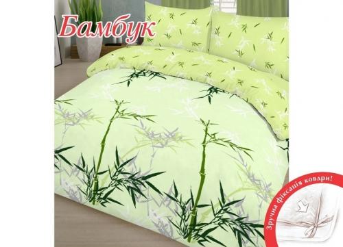 Евро комплект постельного белья Бязь «Бамбук»