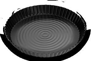 Форма для пиццы 27 антипригарная, черная