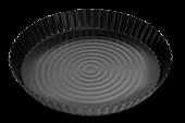 Форма для пиццы 30 антипригарная, черная
