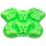Форма для выпечки 6 кексов Бабочка