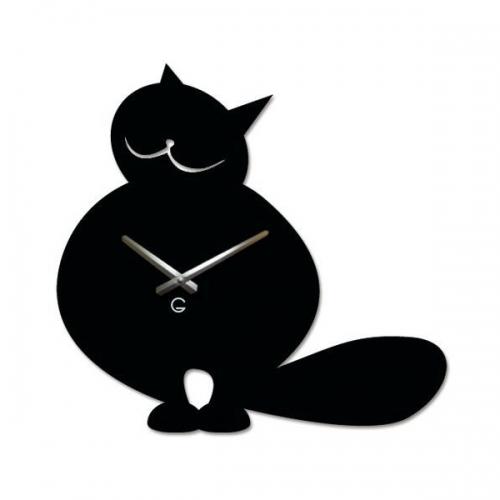 Настенные Часы Glozis Cat