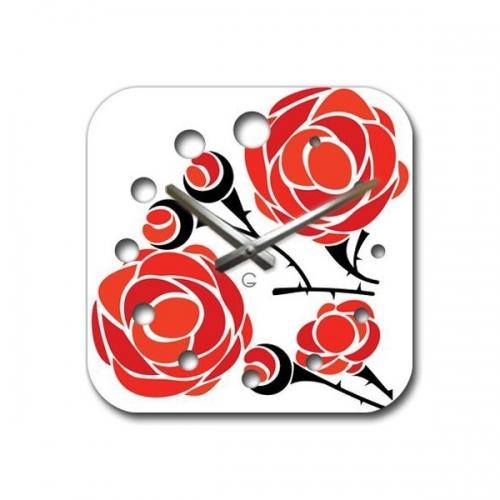 Настенные Часы Glozis Rose