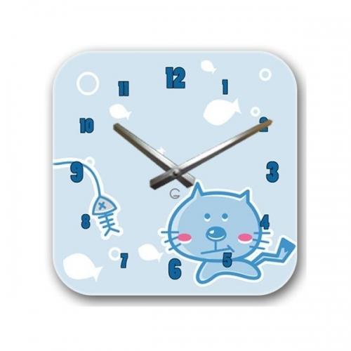 Настенные Часы Glozis Kitty