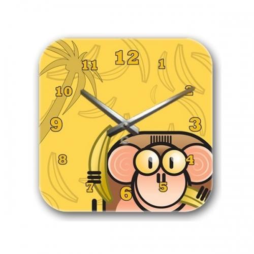 Настенные Часы Glozis Monkey