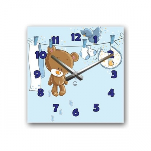 Настенные Часы Glozis Teddy
