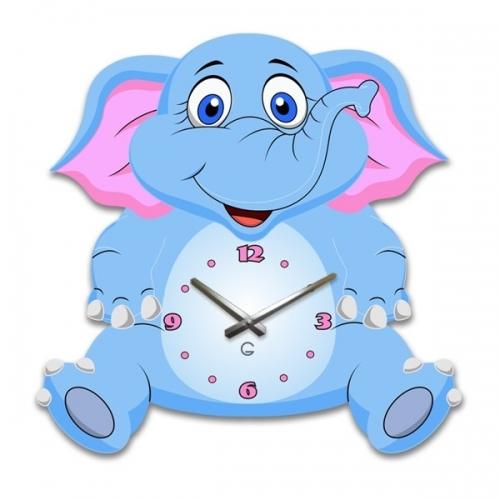 Настенные Часы Glozis Elephant