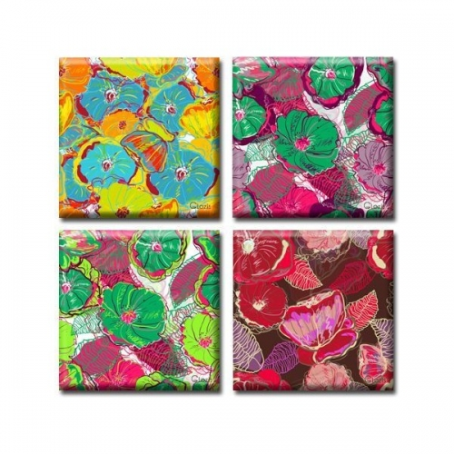 Модульная Картина Glozis Flowers