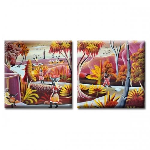 Модульная Картина Glozis Exotic