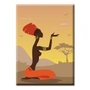 Картина Glozis African girl