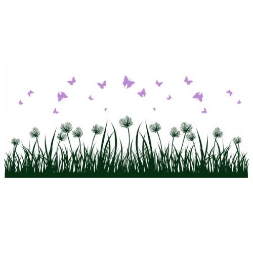 Виниловая Наклейка Glozis Grass