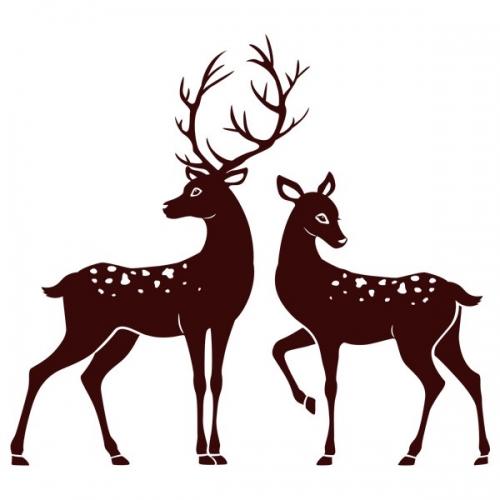 Виниловая Наклейка Glozis Deer
