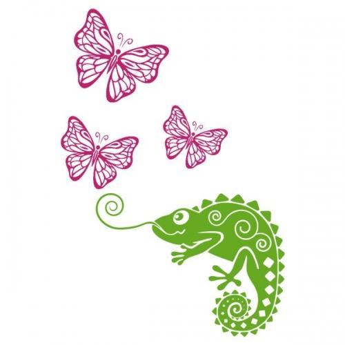 Виниловая Наклейка Glozis Chameleon