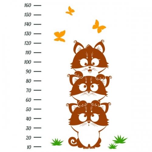 Виниловая Наклейка Glozis Funny Kittens