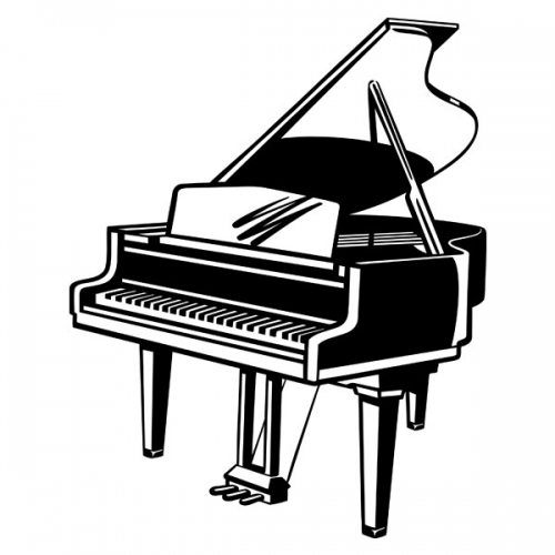 Виниловая Наклейка Glozis Piano