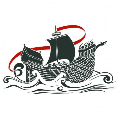 Виниловая Наклейка Glozis Ship