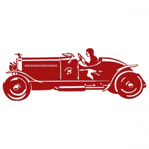Виниловая Наклейка Glozis Sport Car