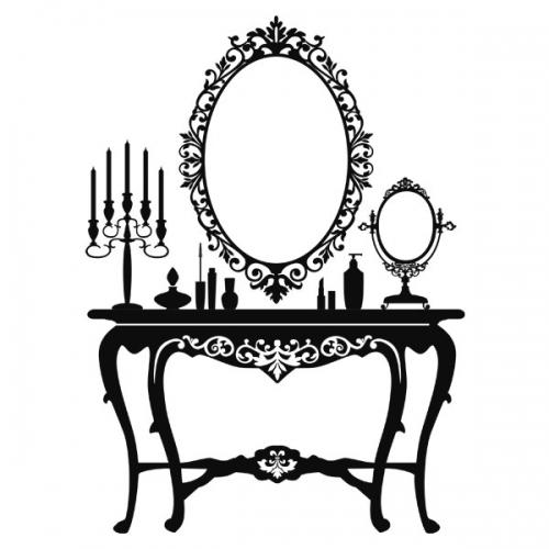 Виниловая Наклейка Glozis Dressing Table