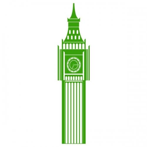 Виниловая Наклейка Glozis Big Ben
