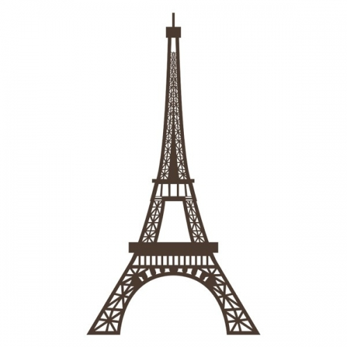 Виниловая Наклейка Glozis Eiffel Tower
